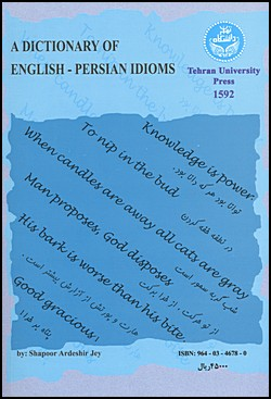 Image for A Dictionary of English-Persian Idioms