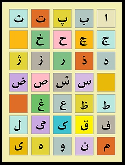 Image for Persian (Farsi) Alphabet Poster